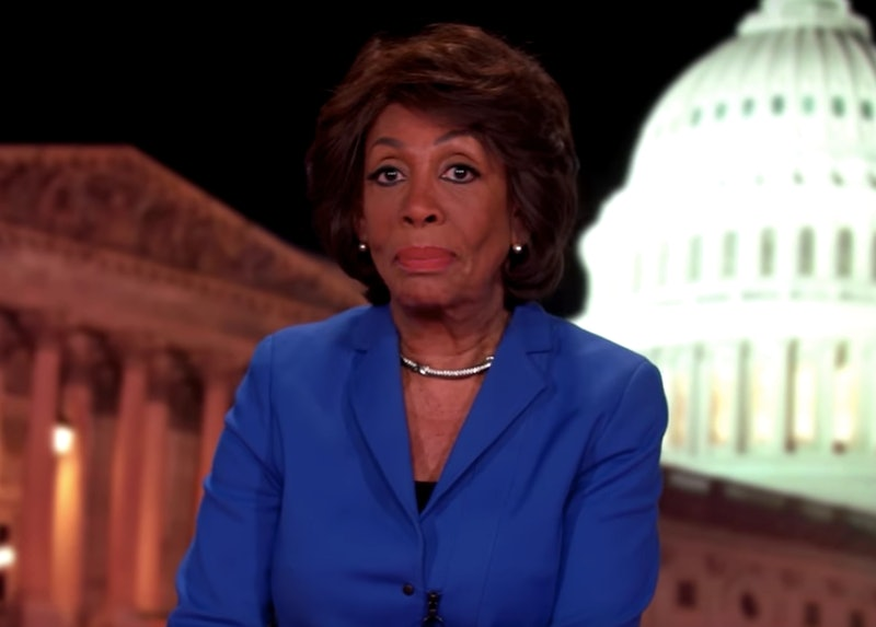 Maxine waters response to the sotu on bet off track betting york pa