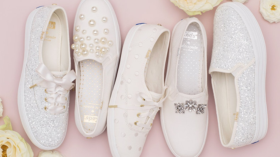 Keds X Kate Spade Wedding Shoes Are The Comfy Bridal Shoes Of Your