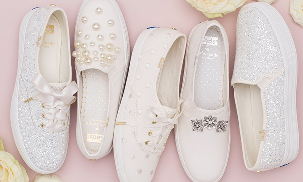 Keds x kate spade wedding shoes are the comfy bridal shoes of your keds x kate spade wedding shoes are the comfy bridal shoes of your dreams junglespirit Images