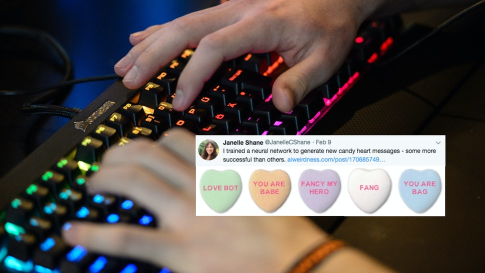 Computer-Generated Candy Heart Messages Exist & They Are Truly