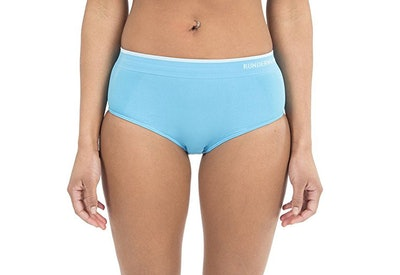 Runderwear Seamless Low-Rise Hipster for Running