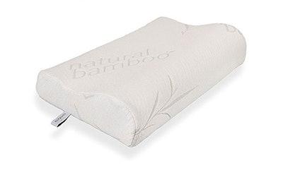 Comfylife Hypoallergenic Bamboo Memory Foam Contour Pillow