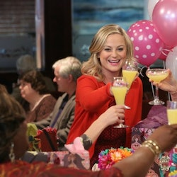 The best Galentine's Day Instagram captions inspired by Leslie Knope quotes.