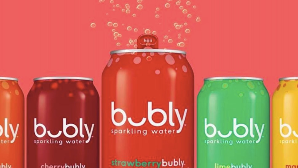 PepsiCo's bubly, A New Line Of Flavored Sparkling Water, Will Hit