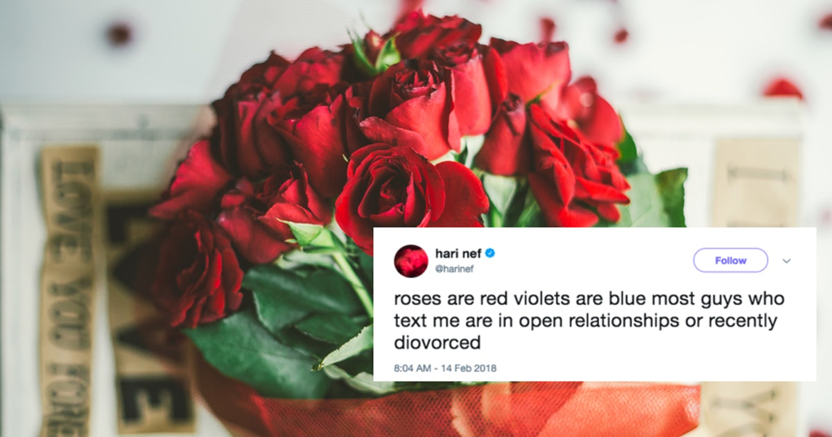 25 Roses Are Red Poems For Valentines Day Are Taking Over