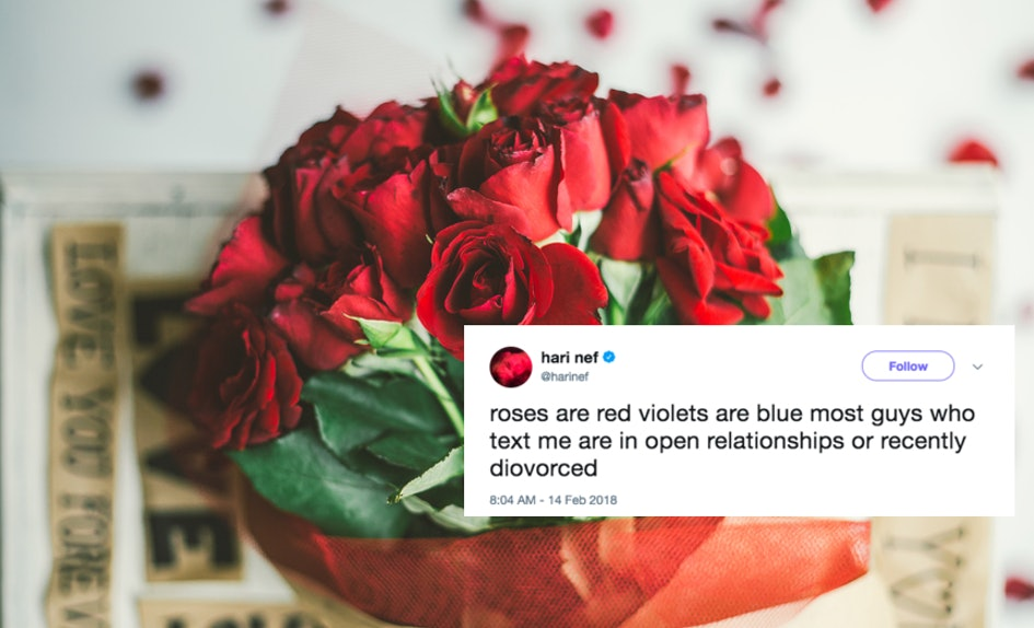 25 roses are red poems for valentine s day are taking over twitter