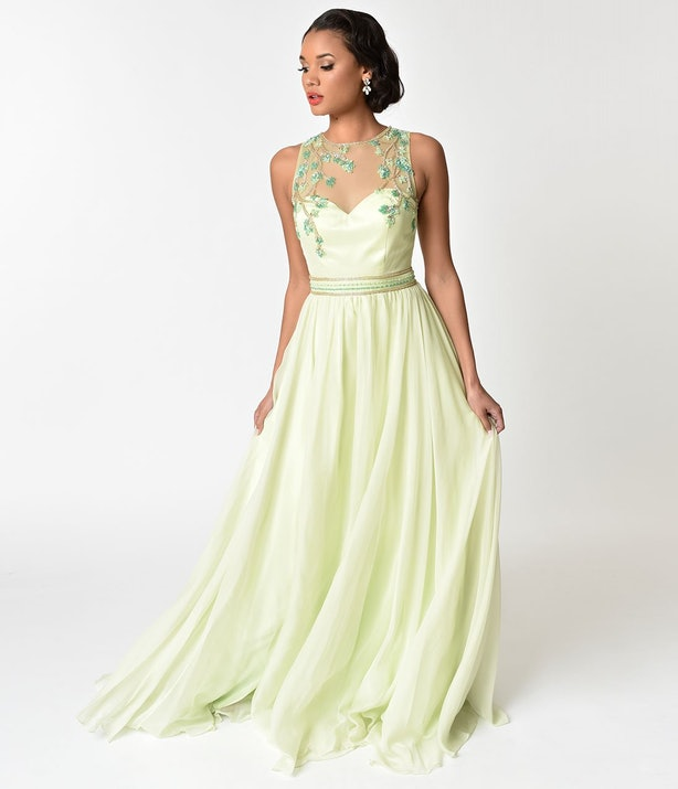 Unique Vintage\'s Disney Princess Prom Dresses Prove You Don\'t Need A ...