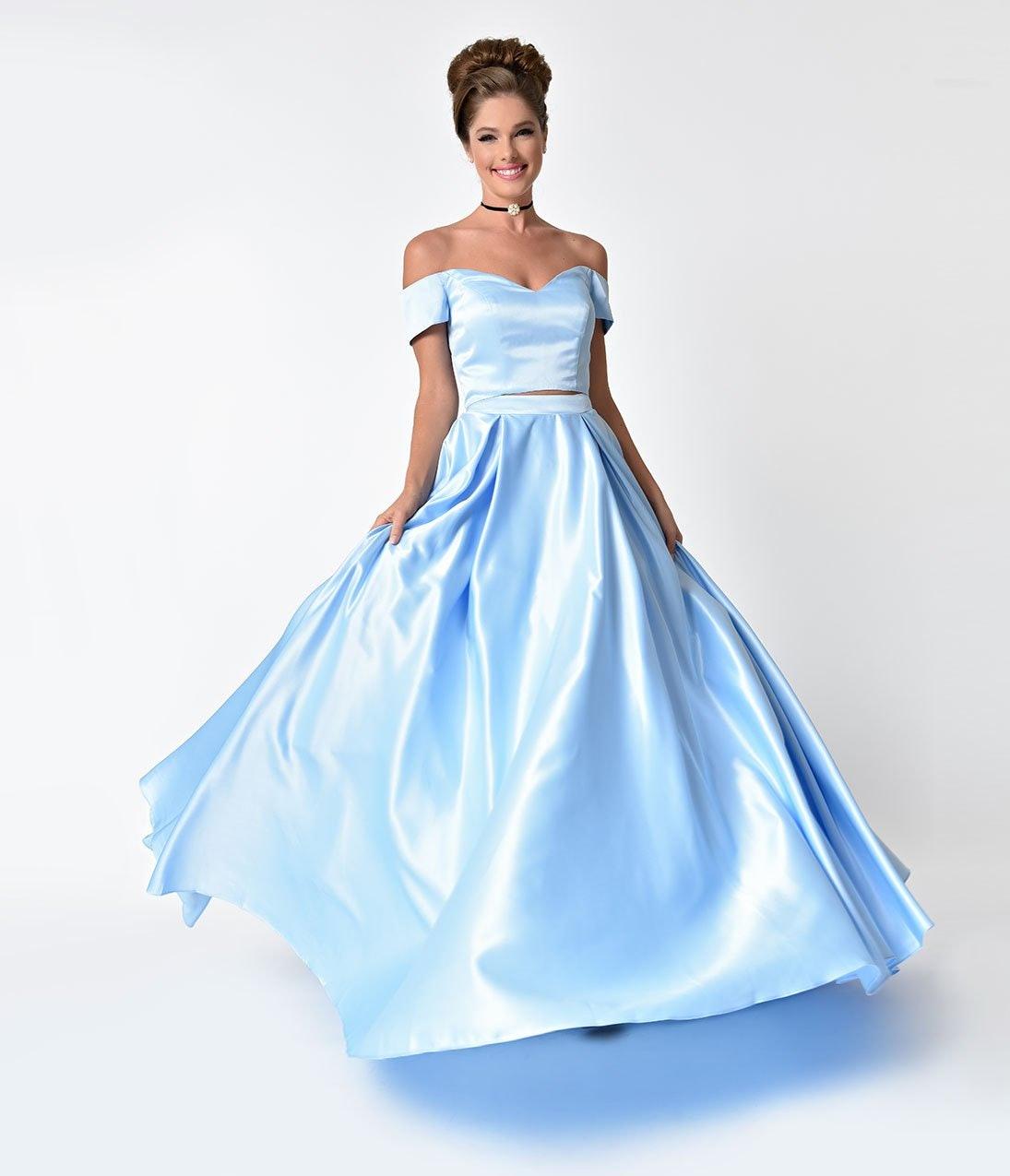 Unique Vintage S Disney Princess Prom Dresses Prove You Don T Need
