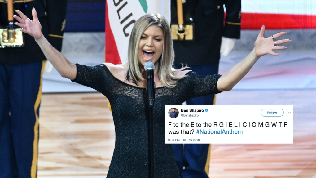 Tweets About Fergie's National Anthem Performance At The NBA