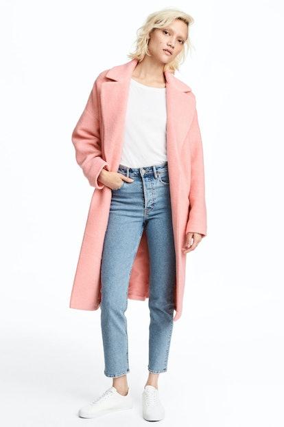Wool-Blend Coat, $119, H&M