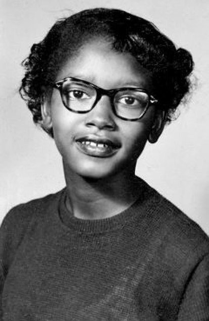 Though you've most certainly heard of Rosa Parks, you may not have heard of Claudette Colvin.