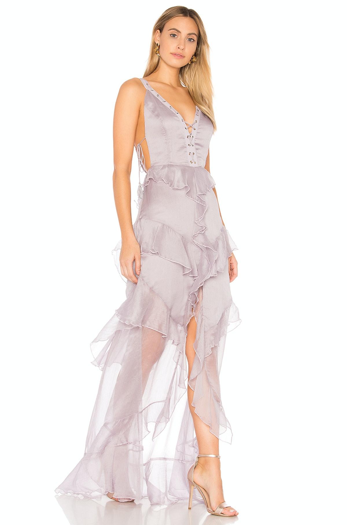 Olympus Maxi Dress, $310, The Jetset Diaries