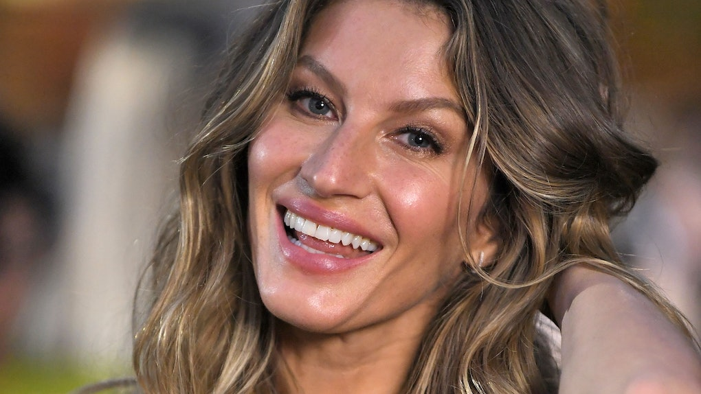 Gisele Bundchen's No Makeup 'Vogue