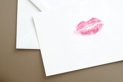 "A unique Valentine's Day gift idea for long-distance couples is to send each other ""kisses"" in the mail."