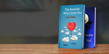 A Valentine's Day gift idea for couples in long-distance relationships is to make each other a book ...