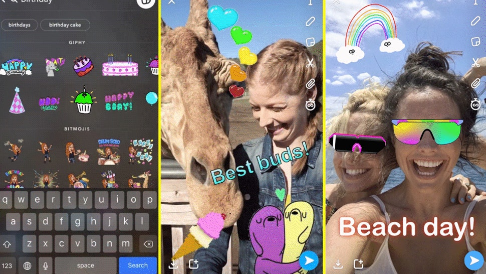 Why Can't I Add GIF Stickers On Snapchat? Here's Are A Few