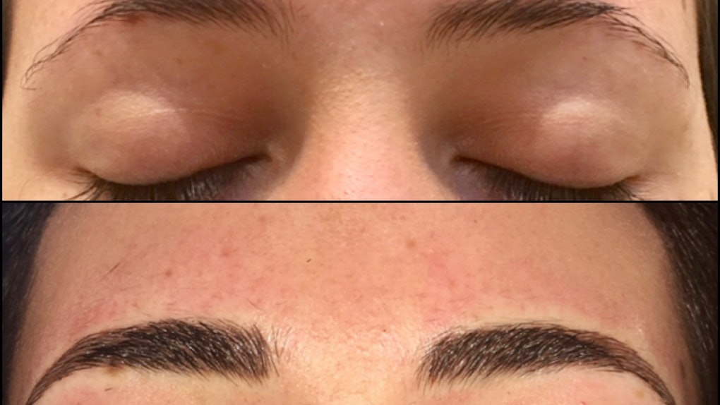 16cece62a81 What Is Eyebrow Microshading? I Got Inked & Learned All About It
