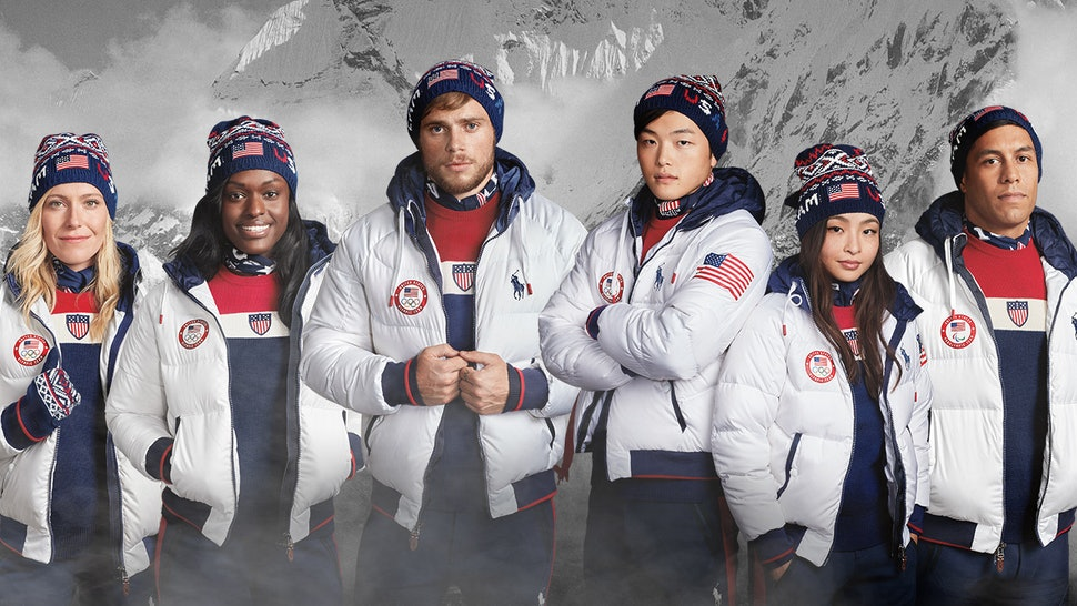 a8bc3bee4af Can You Buy Team USA s 2018 Olympic Closing Ceremony Uniforms  Bring Some  Key Parts Into Your Closet