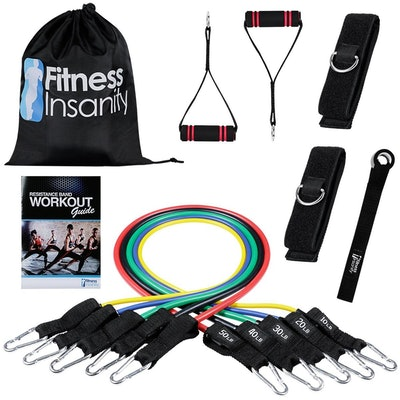 Fitness Insanity Exercise Resistance Bands