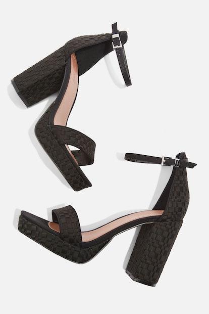 Sloane Woven Platform Sandals