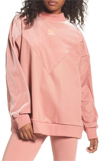 Adidas Originals Oversize Velvet Sweater