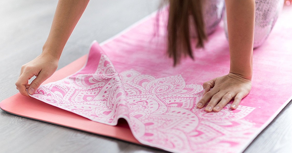These Yoga Towels Are The Best Way To Deal With Slippery Mats