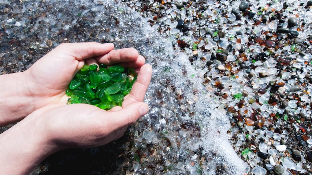 d2fe76c2d8ea 7 Sea Glass Beaches In The U.S. That Are Totally Hidden Gems