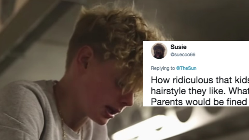 One School Is Reportedly Banning This Popular Haircut For Male