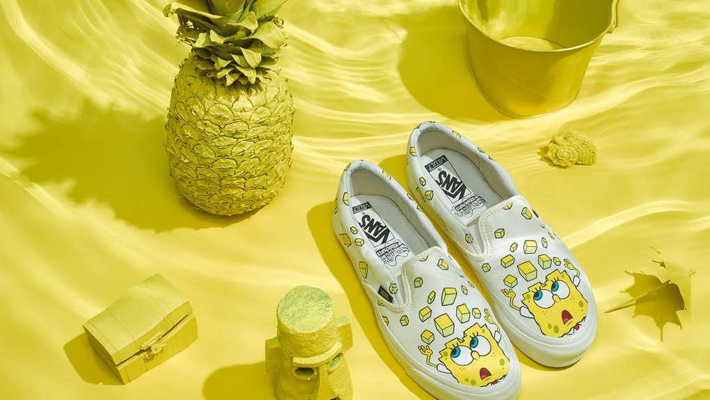 Where To Buy The Vans X Spongebob Collection Shhh Dont Tell Plankton
