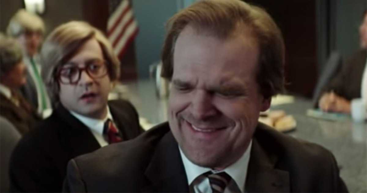 You HAVE To See David Harbour Make His Giggly 'Drunk History' Debut