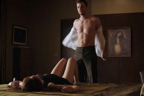 'Fifty Shades' sex scene