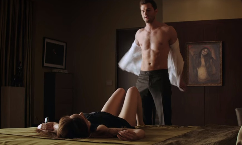 Fifty shades sex scenes