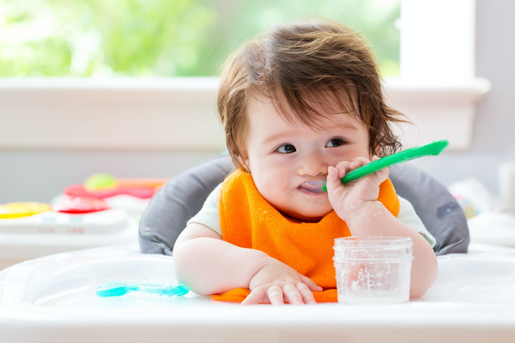 Pros of baby led weaning