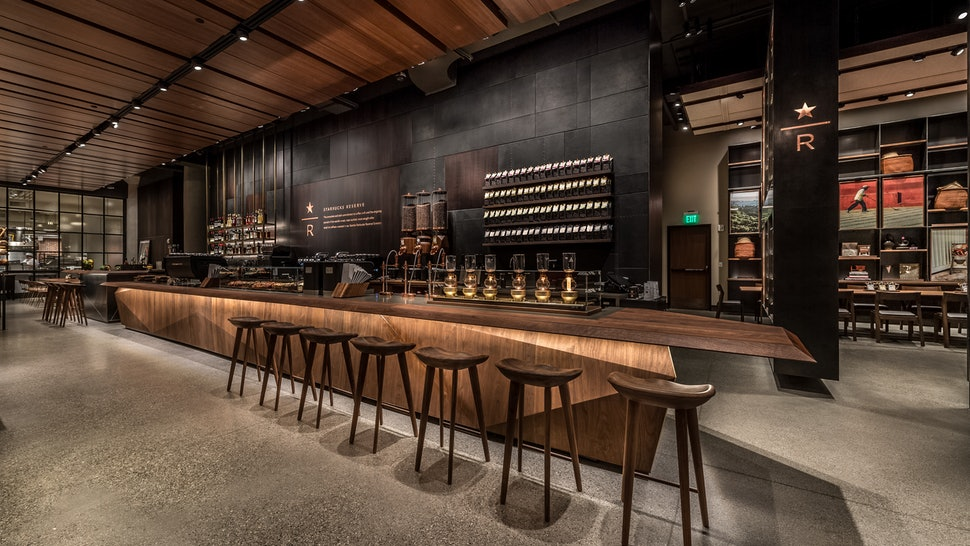 Starbucks New Reserve Store Will Sell Alcohol Amp The