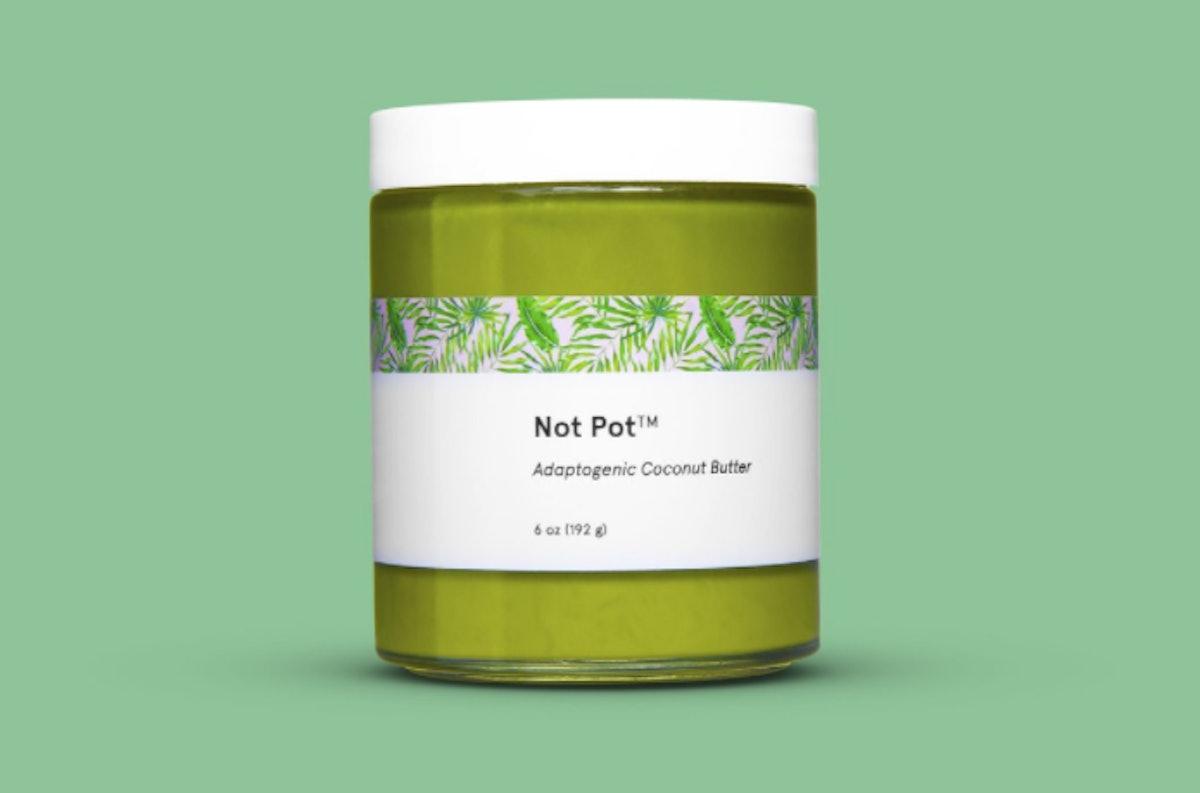 Not Pot x Pearl Butter Adaptogenic Coconut Butter