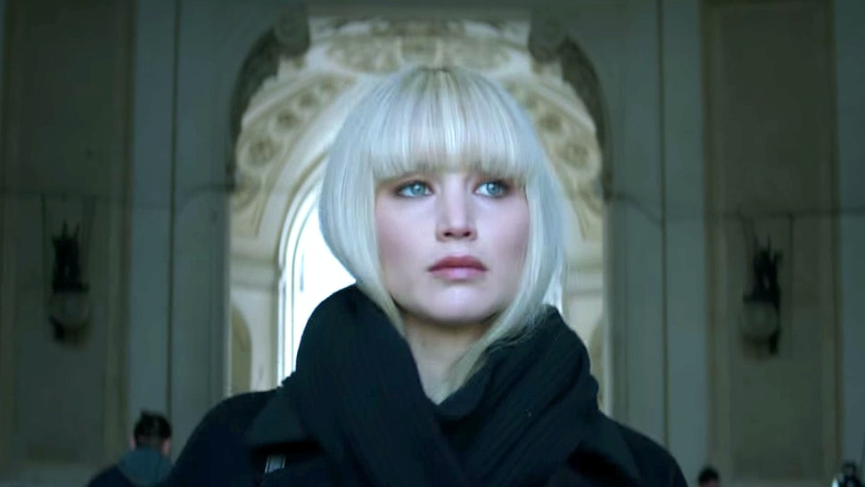 Red sparrow nackt scene