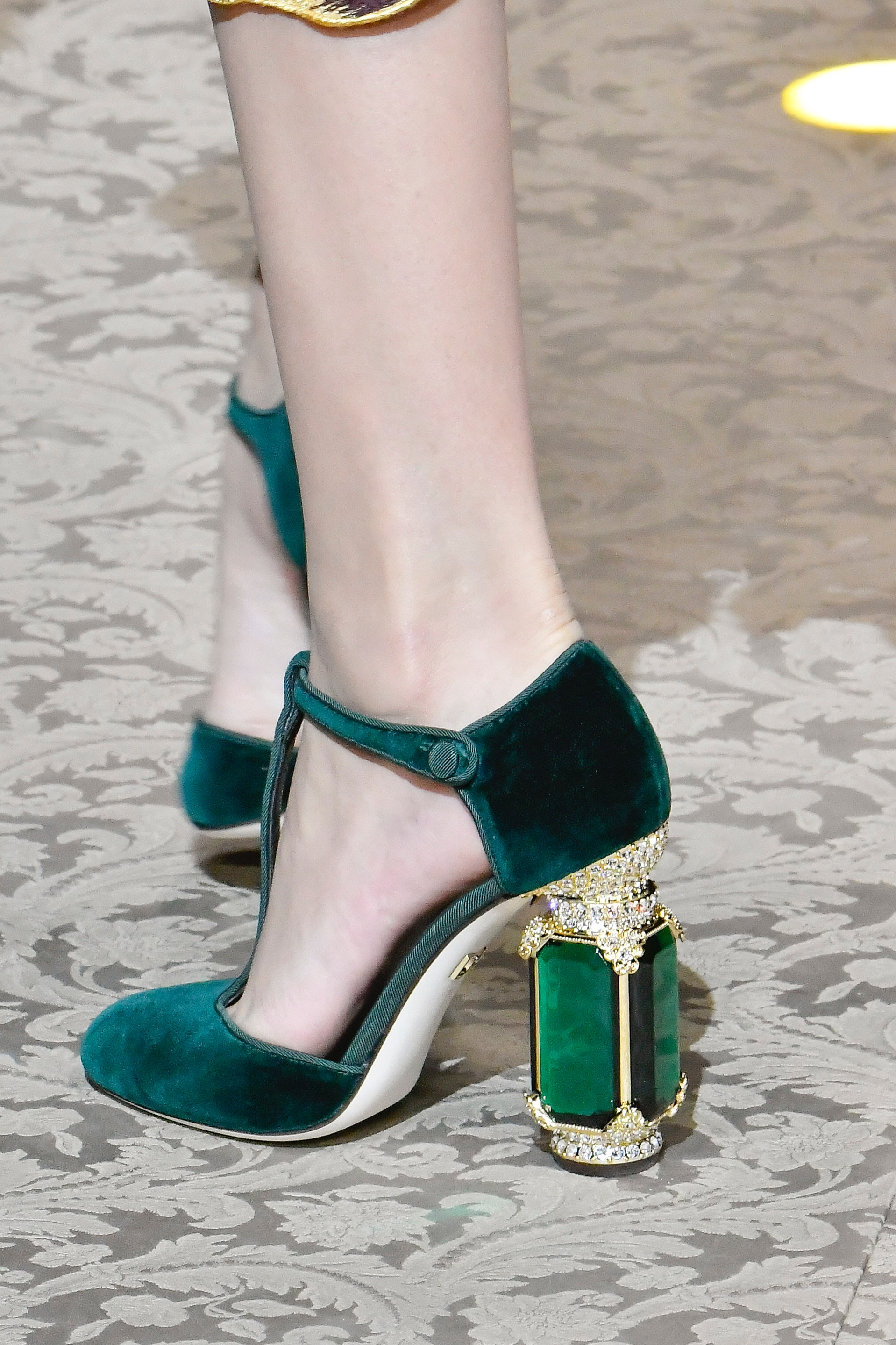 These Dolce \u0026 Gabbana Crown Shoes Are