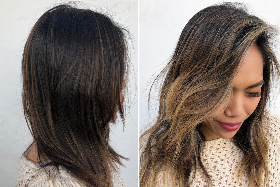 how to give highlights at home