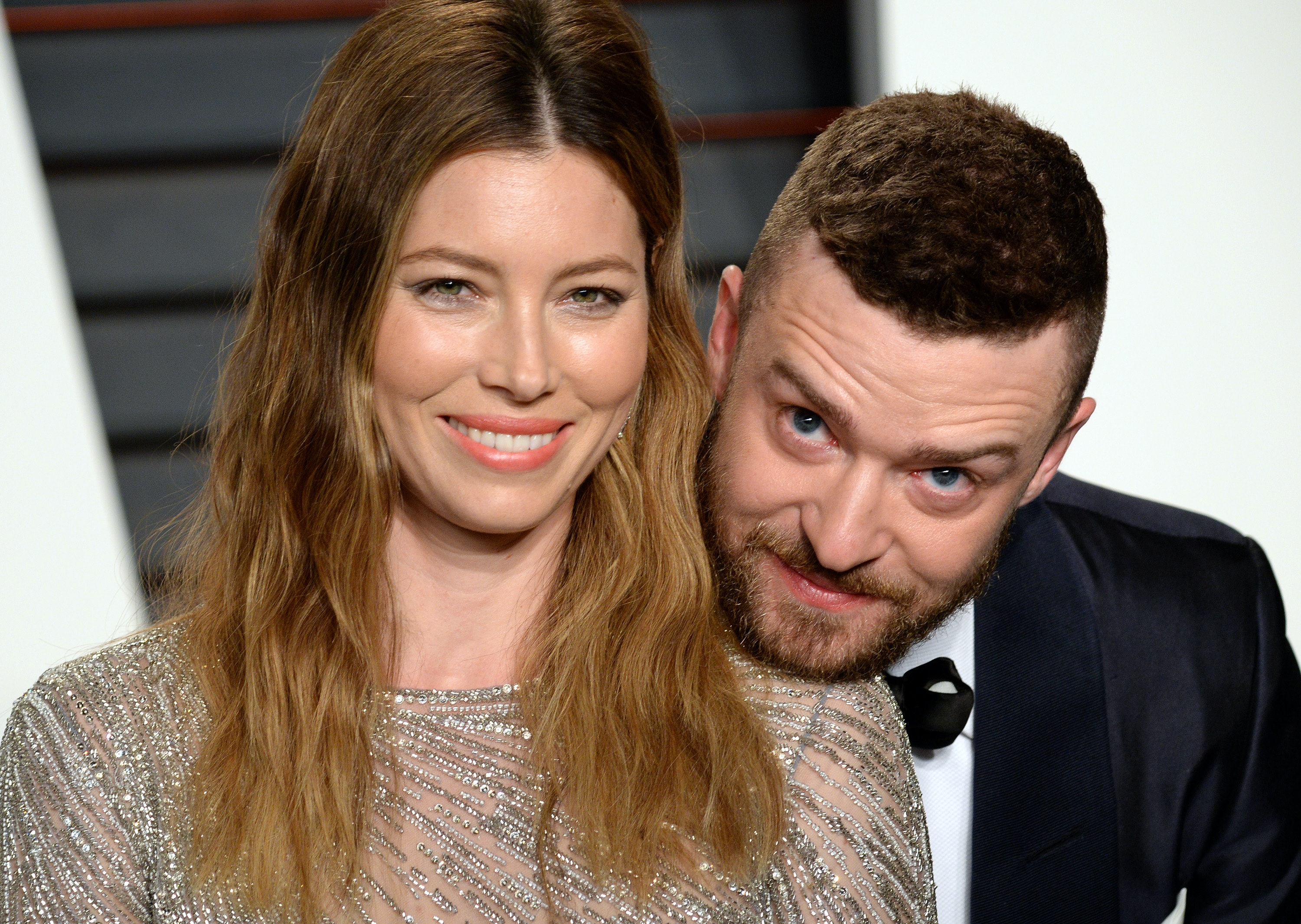 Photos Of Justin Timberlake U0026 Jessica Biel At The Super Bowl Are So  Incredibly Sweet