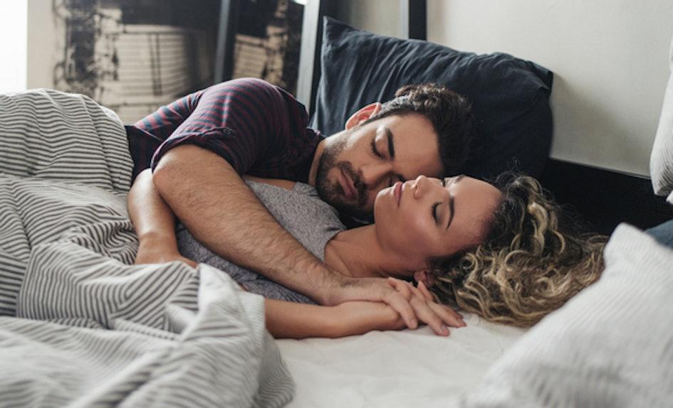 why do men like spooning