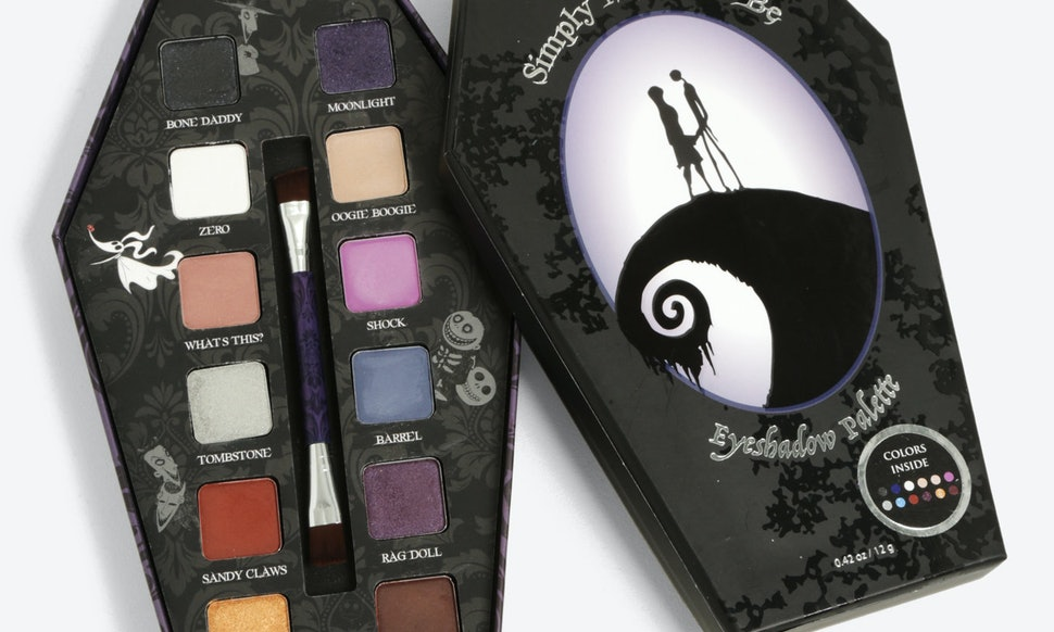 where can you buy the nightmare before christmas palette jack sally will make your makeup routine incredibly creepy - Sally Nightmare Before Christmas Makeup
