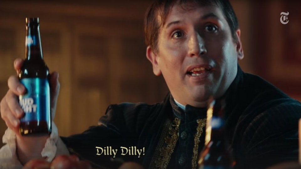 What does dilly dilly mean the bud light super bowl commercial the bud light super bowl commercial has an almost cult like following aloadofball Image collections