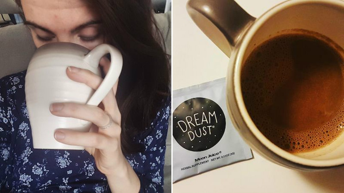 Does Dream Dust Work? I Tried Drinking It Before Bed & Here's How It Made Me Feel