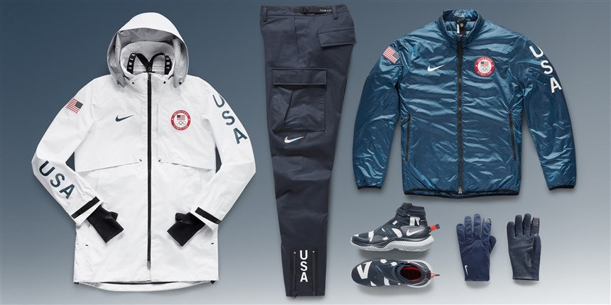 Where To Buy Team USA's Olympic Podium Outfits & Look Like