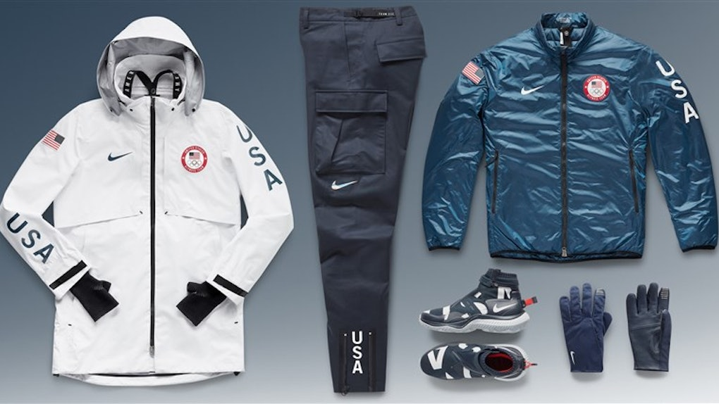 los angeles f4312 352ca Where To Buy Team USA s Olympic Podium Outfits   Look Like You Won A Gold  Medal