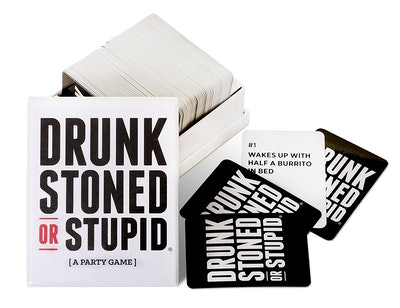 Drunk Stoned Or Stupid: A Party Card Game