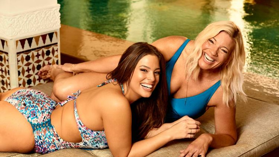 c9998543e10 Ashley Graham & Her Mom's Swimsuits For All Photoshoot Is A Win For Body  Positivity