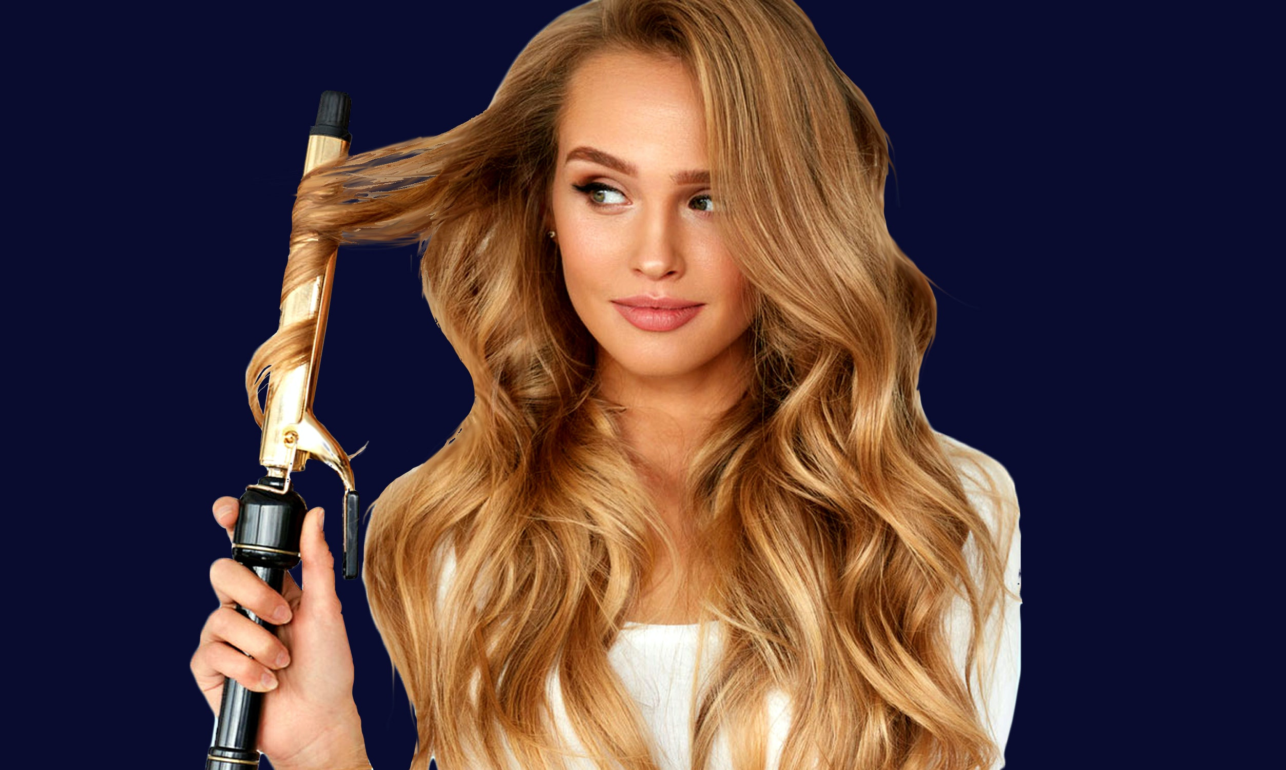 How to make curls curling independently
