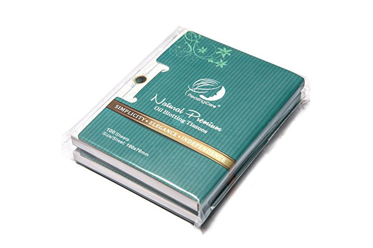 Pleasing Care Natural Premium Charcoal Oil Blotting Tissues