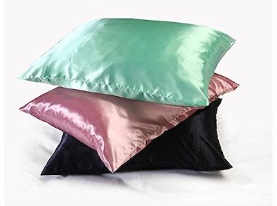 Sweet Dreams Luxury Satin Pillowcase With Zipper